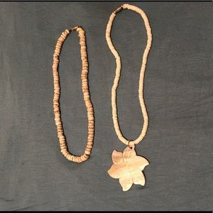 Jewelry - His and hers shell necklace set